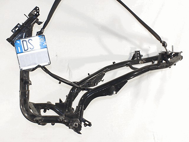 Frame With License Plate And Documents Honda Pcx 125 2009 2013