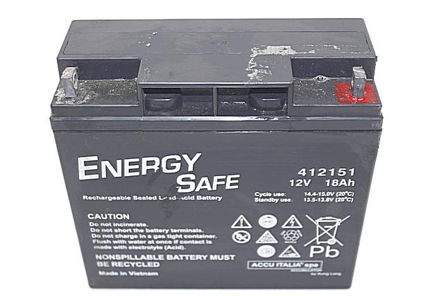12v 18ah Battery >> BATTERIA PER MOTO ENERGY SAFE 412151 12V 18AH BATTERY ...